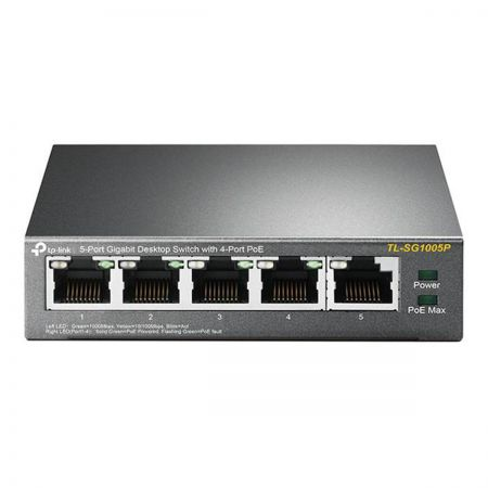 TP-Link TL-SG1005P 5 Port Gigabit Desktop Switch