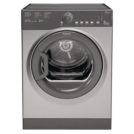 Hotpoint TVFS83CGG9 8kg Vented Tumble Dryer - Graphite