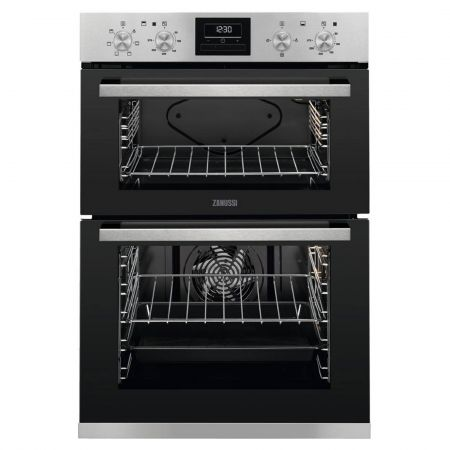 Zanussi ZOD35660XK 108L Built-In Electric Double Oven