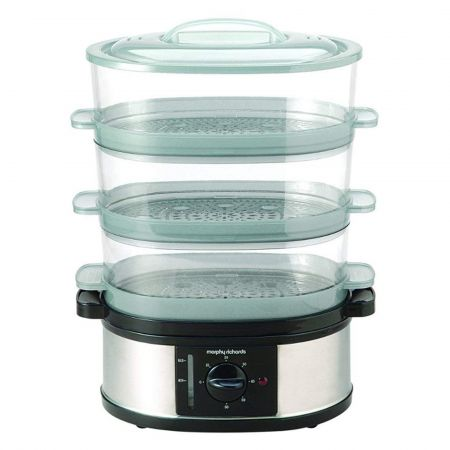 Morphy Richards 48755 3 Tier 9L Steamer