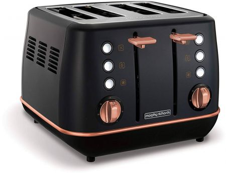 Morphy Richards 240114 1800W 4 Slice Wide Slot Toaster