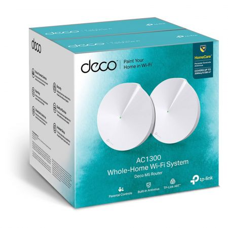 TP-Link DECO-M5-2PACK Whole Home Wi-Fi System 2 Pack