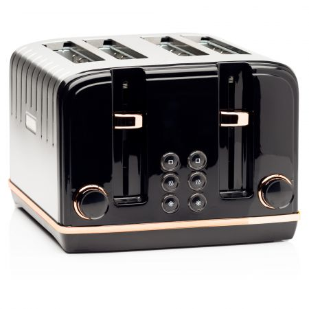 Haden 191168 Salcombe 4 Slice Wide Slot Toaster