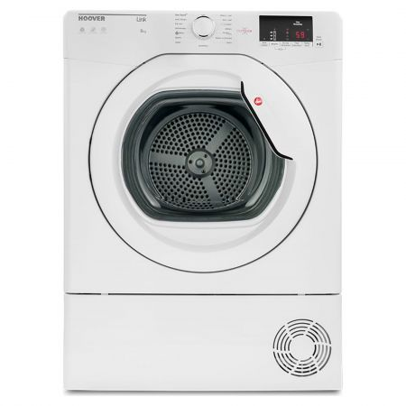 Hoover HLC8DG 8Kg One Touch Condenser Tumble Dryer with NFC