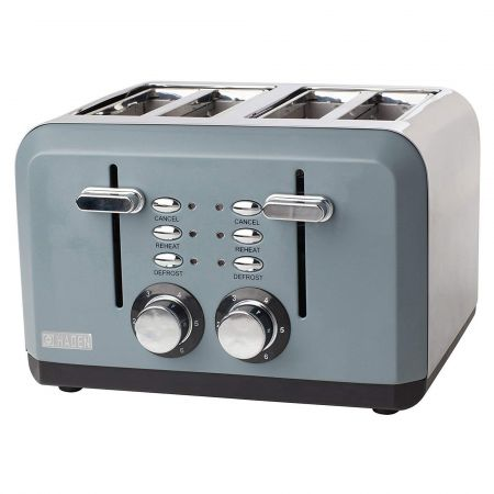 Haden 183453 1630W Perth 4 Slice Wide Slot Toaster
