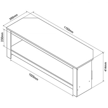 Tech Link CALIBRE Corner TV Stand for up to 55