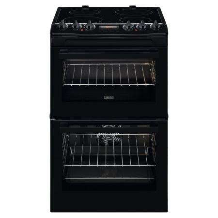 Zanussi ZCV46250BA Electric Cooker with Ceramic Hob