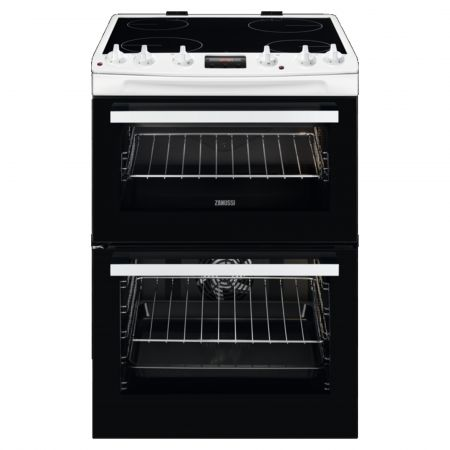 Zanussi ZCV66370WA Electric Cooker with Ceramic Hob