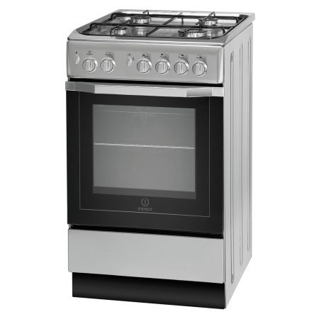 Indesit IS5G1PMSSUK 4 Hob Single Gas Cooker