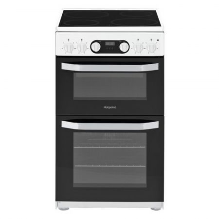 Hotpoint HD5V93CCWUK Electric Cooker with Ceramic Hob