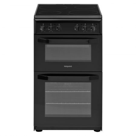 Hotpoint HD5V92KCBUK 500mm Electric Cooker - Black