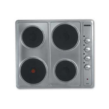 Homark HM-ES60SS 600mm Solid Plate Hob - Stainless Steel