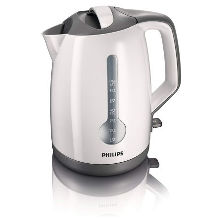 Philips HD4644 1.7L 3000W Kettle with 1 Cup Indicator
