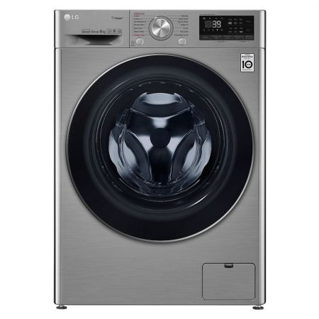 LG F4V709STS 9kg 1400rpm Washing Machine with Steam+