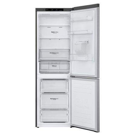 LG GBF61PZJZN 373L Fridge Freezer with Water Dispenser