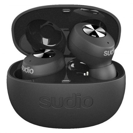 Sudio TOLV Wireless In-Ear Headphones in Black