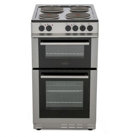 Belling FS50ETSIL 500mm Twin Cavity Electric Cooker