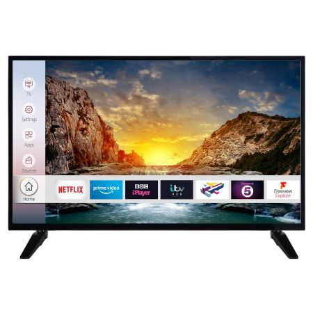 "Digihome 40268UHDS 40"" Ultra HD 4K Smart TV with Netflix & Amazon Prime"