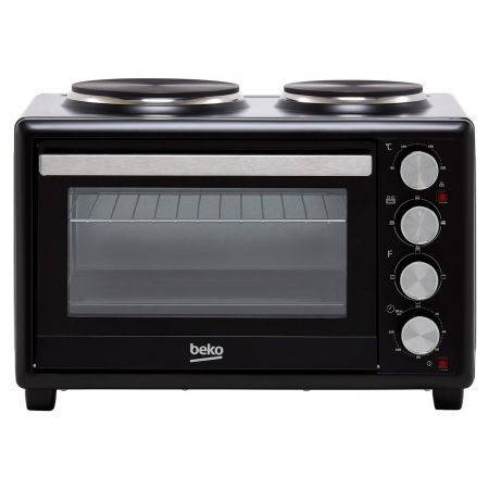 Beko MSH28B Mini Oven with Double Hob