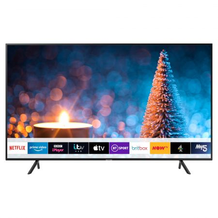 "Samsung UE75RU7020 75"" HDR 4K Smart TV with Apple TV"