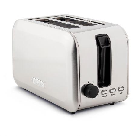 Haden 196859 2 Slice Stoke Brushed Steel Toaster