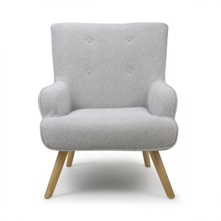 Isabella Flax Effect Armchair