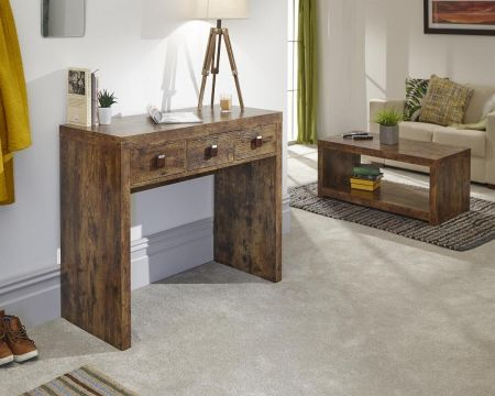 Aberdeen Console Hall Desk With Drawers