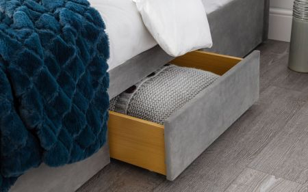Sayway 3 Drawer Studded Bed