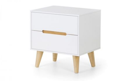 Alcini 2 Drawer Bedside Table