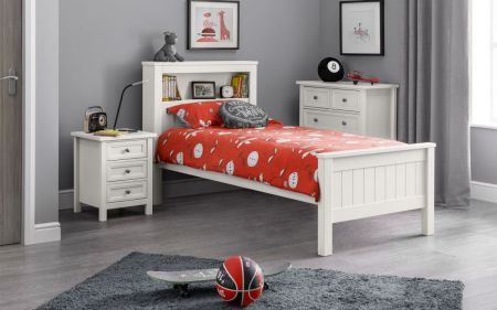 Mainti Bookcase Wooden Bed