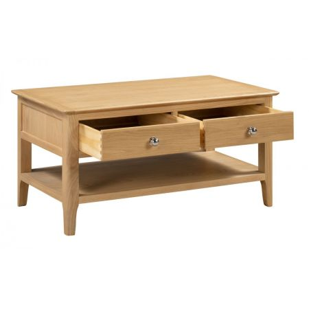 Cotston Coffee Table With 2 Drws