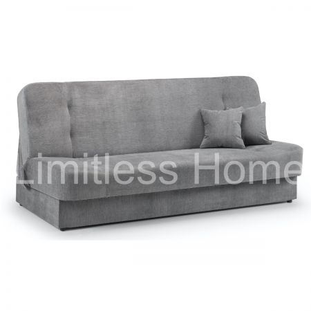 Tonas Grey 2 Seater Sofa Bed