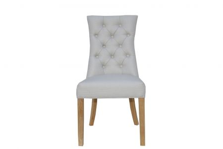 Criten Curved Button Back Chair
