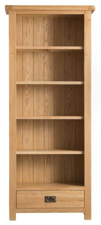 Charlie Wooden Medium Bookcase Oak