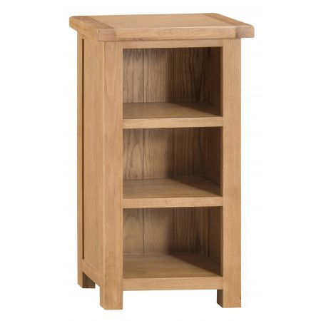 Charlie Narrow Bookcase Oak