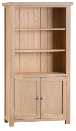 Lovran Wooden Bookcase Oak
