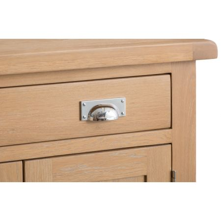Lovran Small 2 Door 1 Drawer Sideboard Oak