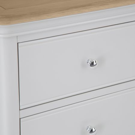 Movo 2 Over 3 Chest Of Drawers Grey