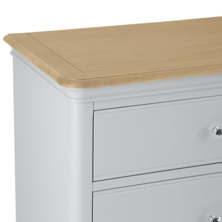 Movo 6 Drawer Chest Of Drawers Grey