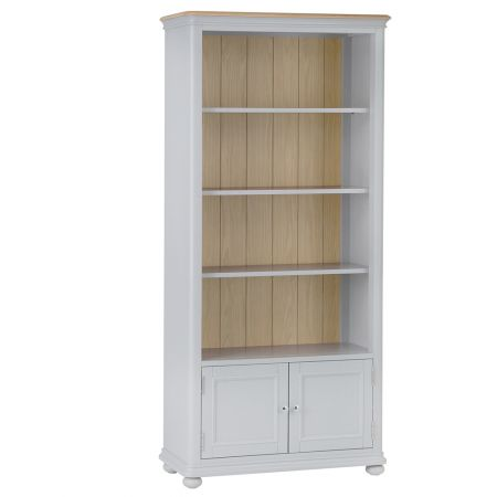 Movo Large Bookcase Grey