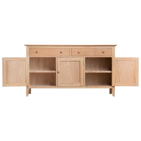 Nosten 3 Door Sideboard Oak