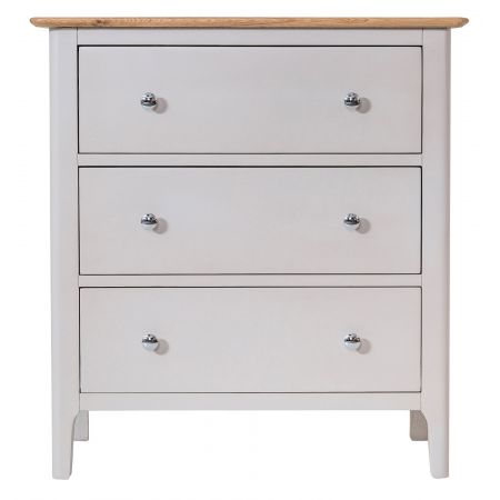 Nuton 3 Drawer Chest Of Drawers Grey
