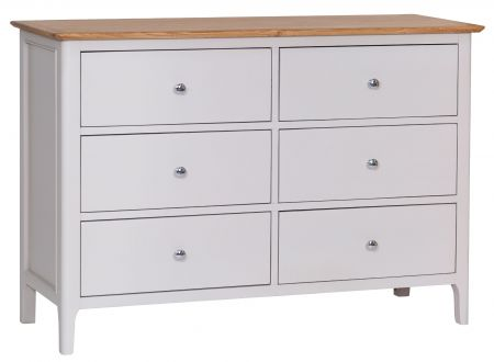 Nuton 6 Drawer Chest Of Drawers Grey