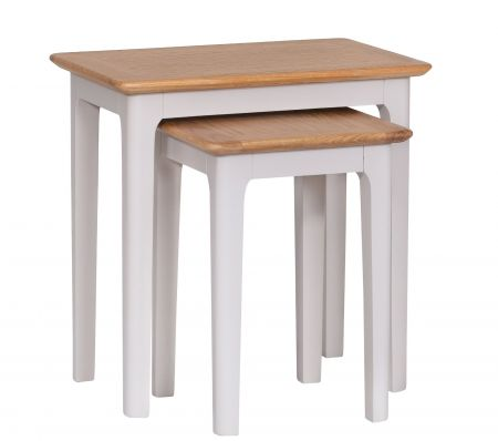 Nuton Nest Of 2 Tables Grey