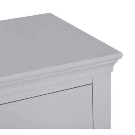 Swinco 3 Drawer Chest Of Drawers Grey