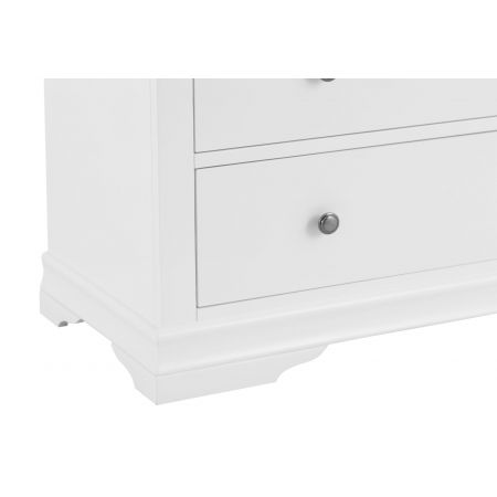 Swinco 2 Over 3 Chest Of Drawers White