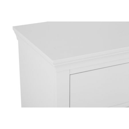 Swinco 3 Drawer Chest Of Drawers White