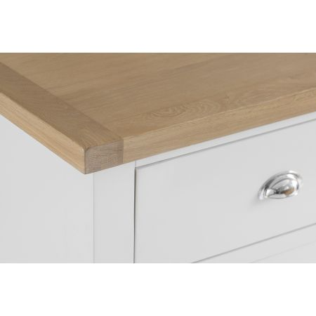 Trent 6 Drawer Chest Of Drawers White