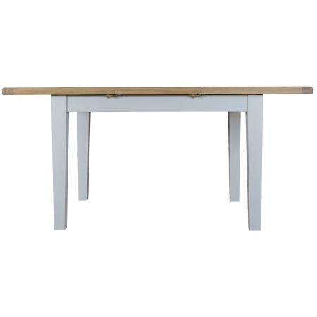 Trent Butterfly 1.2M Extending Table Grey