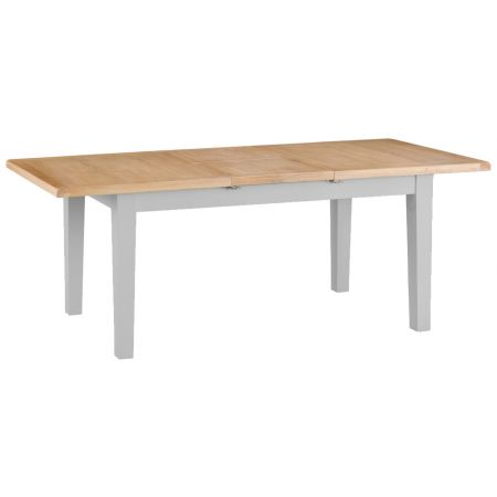 Trent Butterfly 1.6M Extending Table Grey